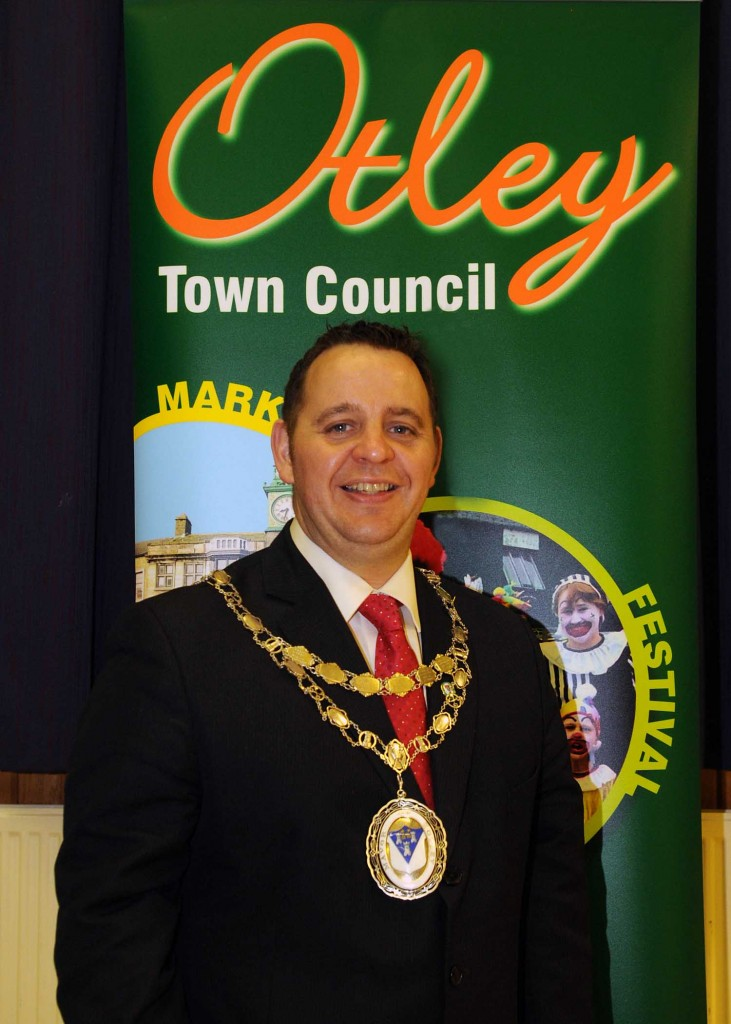 Otley Town Mayor 2014 to 2015