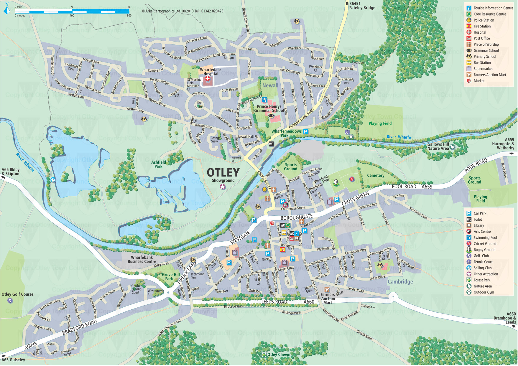 Location and Transport Otley Town Council