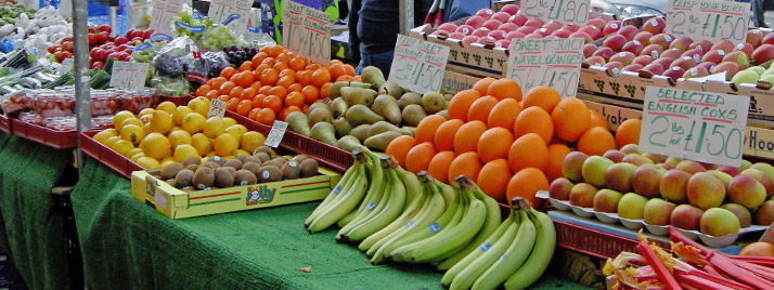 Market Stall in Otley